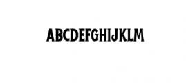WelderMiles-Regular.otf Font LOWERCASE