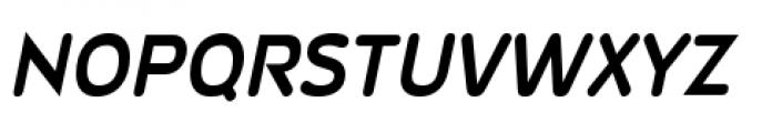 Wevli Bold Italic Font UPPERCASE