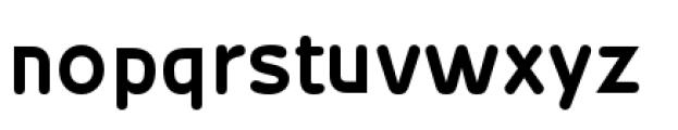 Wevli Bold Font LOWERCASE