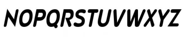 Wevli Cond Bold Italic Font UPPERCASE