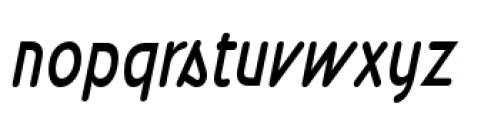 Wevli Cond Italic Font LOWERCASE