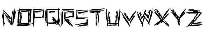 WE WRESTLE Font UPPERCASE