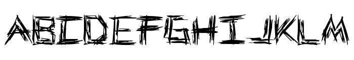 WE WRESTLE Font LOWERCASE