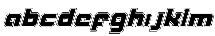 Weaponeer Academy Italic Font LOWERCASE