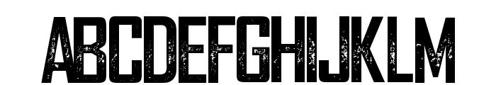 WeareDepraved Font UPPERCASE