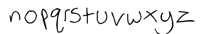 Weaselbee beans Font LOWERCASE
