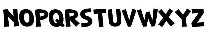 Weaselic Medium Font UPPERCASE