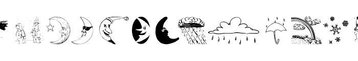 WeatherBats Font UPPERCASE
