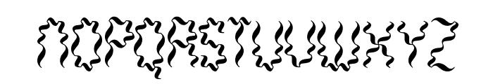 Weaver BRK Font UPPERCASE