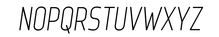 Web Serveroff Italic Font UPPERCASE