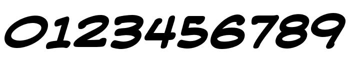 WebLetterer BB Bold Font OTHER CHARS