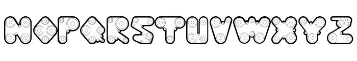 WebPressBold Font UPPERCASE
