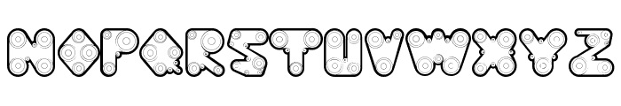 WebPressBold Font LOWERCASE