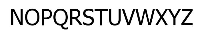 WebTamil Normal Font UPPERCASE
