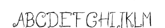 Wedding Garden Font UPPERCASE