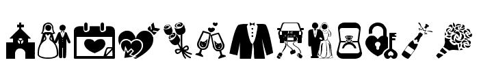 Wedding Font LOWERCASE