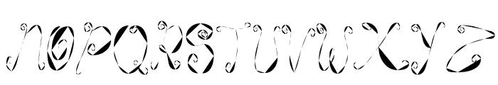 WeeWeeCafe Font UPPERCASE