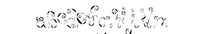WeeWeeCafe Font LOWERCASE