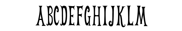 Weehah Font UPPERCASE