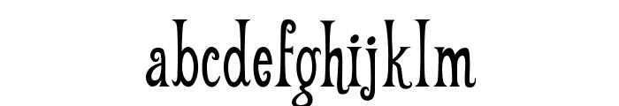 Weehah Font LOWERCASE