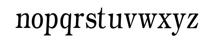 WeekdaysRomanSlant Font LOWERCASE