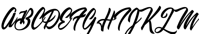 Weekend Flower Hunters Personal Use Font UPPERCASE