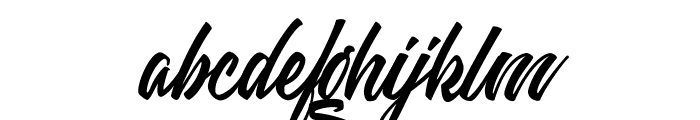 Weekend Flower Hunters Personal Use Font LOWERCASE
