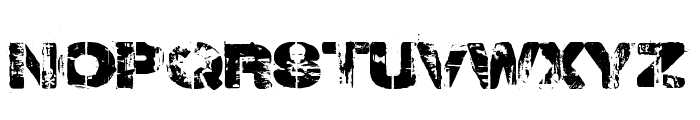 Weekend Warrior Font UPPERCASE