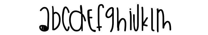 WeekendSummerFun Font LOWERCASE