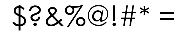 WeezerFont Font OTHER CHARS