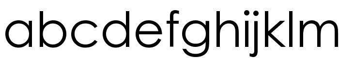 WeezerFont Font LOWERCASE