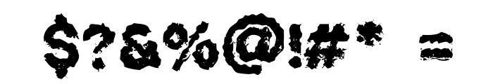 WehryzeCopiya Font OTHER CHARS