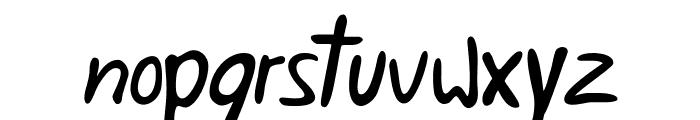 Weigl Font LOWERCASE