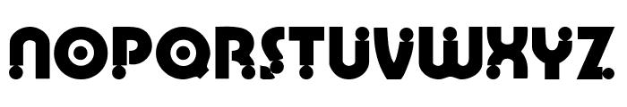 Weimar Font UPPERCASE