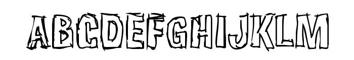 Weirdmojo Font UPPERCASE