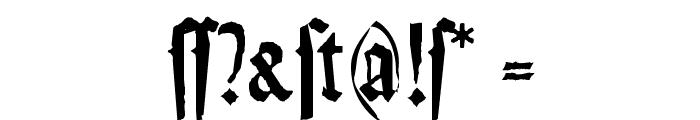 Weiss-Gotisch-Random Font OTHER CHARS