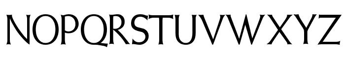 Weiss Initialen Alternates Font UPPERCASE
