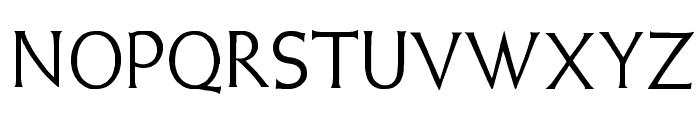 Weiss Lapidar Font UPPERCASE