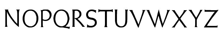 Weiss Lapidar Font LOWERCASE