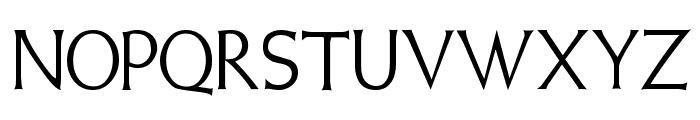 Weiss Regular Font UPPERCASE