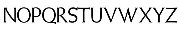 WeissInitialen Font LOWERCASE