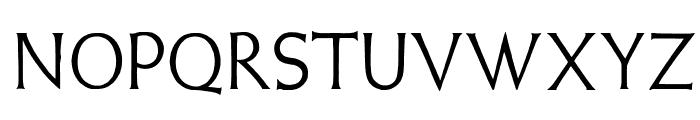 WeissLapidar Font UPPERCASE