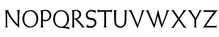 WeissLapidar Font LOWERCASE