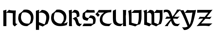 WeissRundgotisch Font UPPERCASE