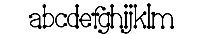 Welcome To Planet Earth Font LOWERCASE