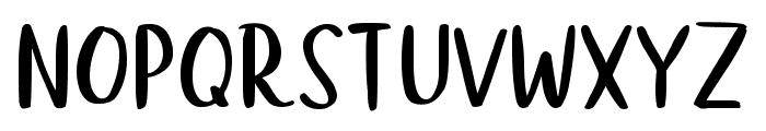 Wellington Font UPPERCASE