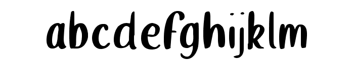 Wellington Font LOWERCASE