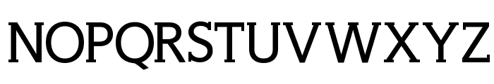 WellrockSlabBold Font UPPERCASE