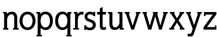 WellrockSlabBold Font LOWERCASE