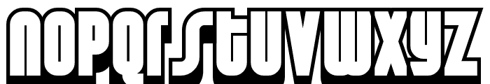 Weltron 2001 Font LOWERCASE